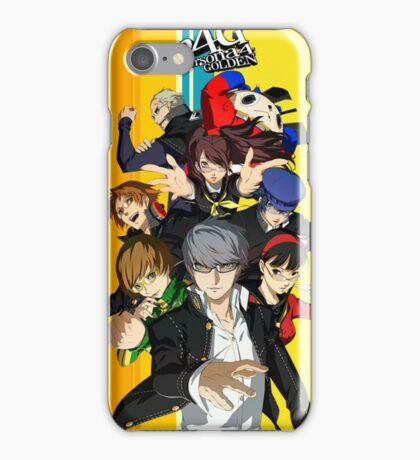 Persona 4 Golden iPhone Case/Skin