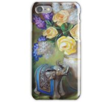 Elephant and Roses iPhone Case/Skin