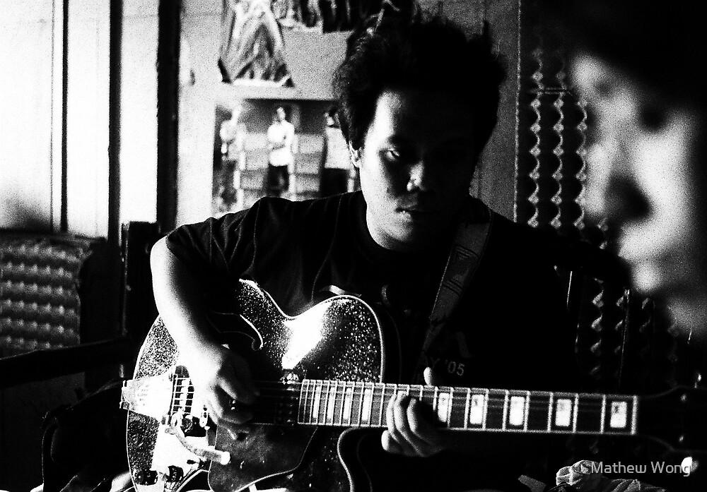 ven's new guitar 01 by Mathew Wong
