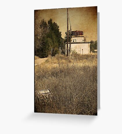forgotten on route one Greeting Card