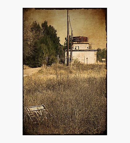 forgotten on route one Photographic Print