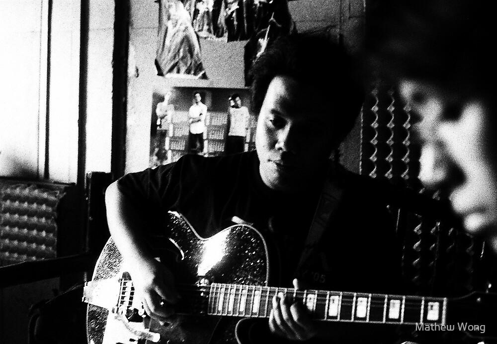 ven's new guitar 02 by Mathew Wong