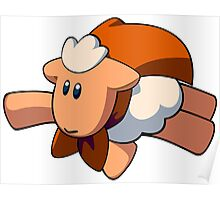 Super Mouton Wormslike (Flying) Poster
