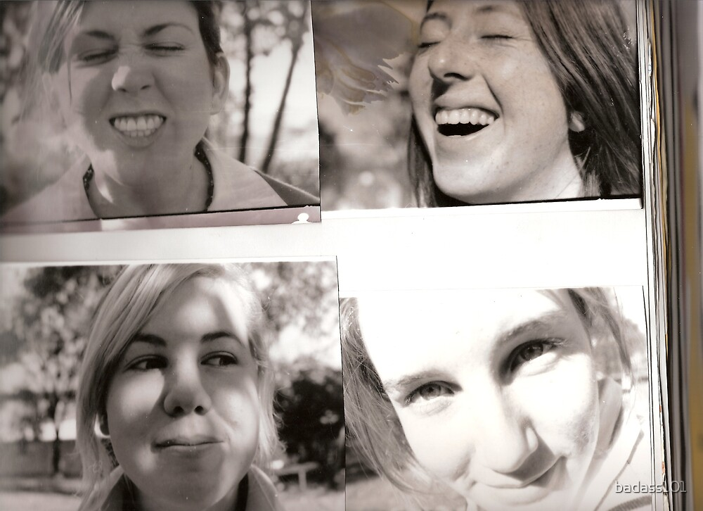 the girls by badass101