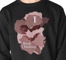 I Heart Rock Climbing Graphic Tee in Pink Pullover