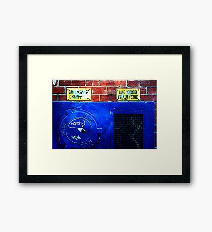2040 Framed Print