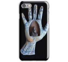 sitting quietly, wisdom unfolds iPhone Case/Skin