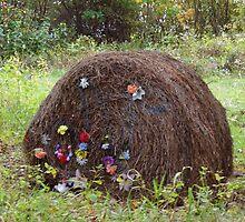 A fancy bale of hay by vigor