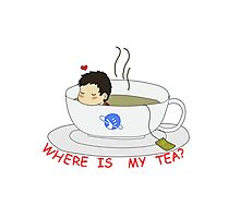 Where is my Tea? Photographic Print