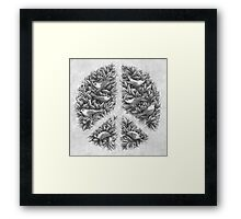 Peace Naturalis Framed Print