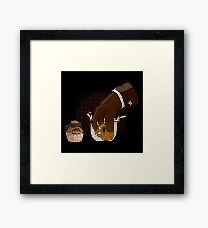 Breakfast killer Framed Print