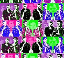 Dave Franco & Zac Efron Andy Wharhol Design by FangirlParadise