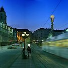 Hauptplatz Tram Linz by Ian Smith