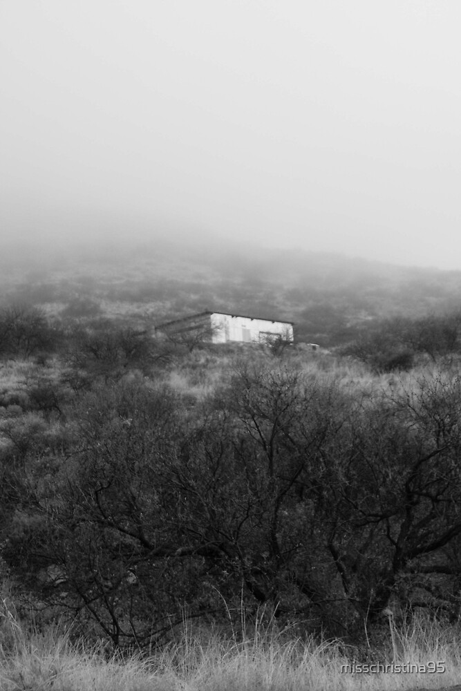 House in the fog by misschristina95