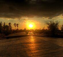 Sunset by Adrian Figueroa