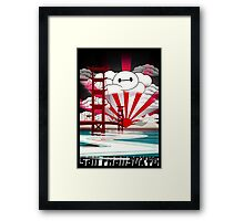 San Fransokyo,home of the Baymax Framed Print