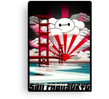 San Fransokyo,home of the Baymax Canvas Print