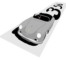 Classic 356 Speedster by nick356