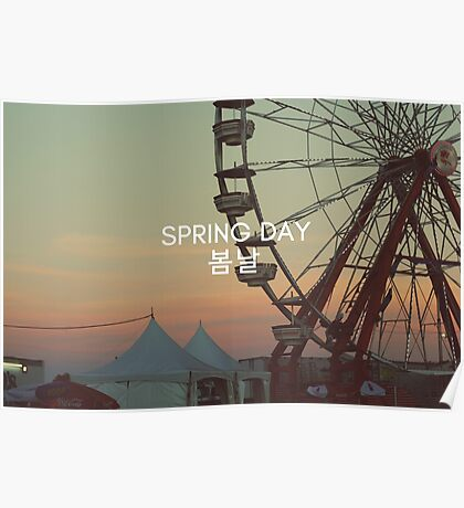 spring day. Poster