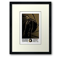 Quantum Of Solace. Framed Print