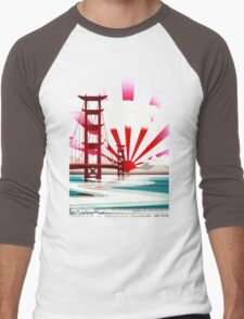 San Fransokyo,home of the Baymax Men's Baseball ¾ T-Shirt