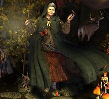 November, Seasons of the Witch: Spirit of the Forest by MichelleIacona