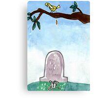 Grave Canvas Print