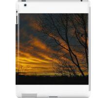 Red Sky Silhouette iPad Case/Skin
