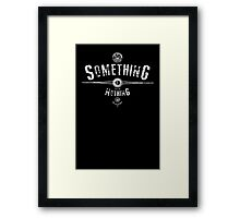 Foo Fighters - Something from Nothing - Lyrics Framed Print