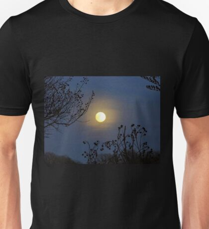 Framing The Snow Moon Unisex T-Shirt
