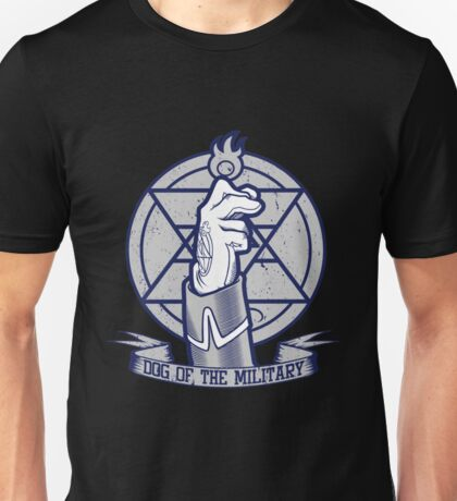 Fullmetal Alchemist Dog Of The Military Flame Unisex T-Shirt
