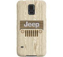 Wooden Jeep Willys [Update] Samsung Galaxy Case/Skin