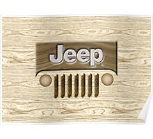 Wooden Jeep Willys [Update] Poster