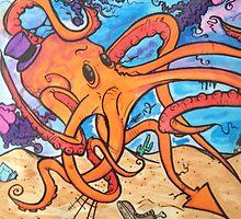 Fancy mr octopus  by PhillipJohnson