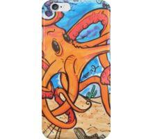 Fancy mr octopus  iPhone Case/Skin