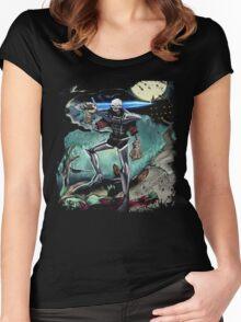 Medievil (Super Dan) by Nick Wilson Women's Fitted Scoop T-Shirt