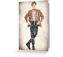 Eleventh Doctor - Doctor Who Greeting Card