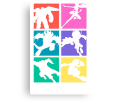 Big Hero 6, colored! Canvas Print