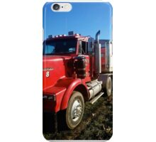 Big Red Truck iPhone Case/Skin