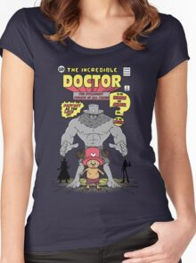The Incredible Doctor Women's Fitted Scoop T-Shirt