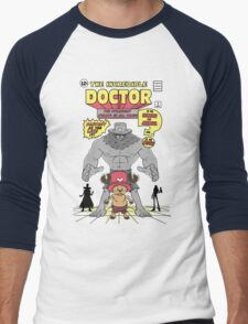 The Incredible Doctor Men's Baseball ¾ T-Shirt