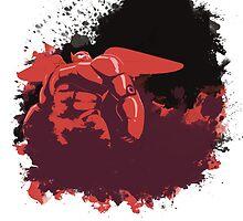Splashhh! (Big Hero 6) by Julien Missaire