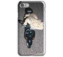 Beardie loves his vespa iPhone Case/Skin