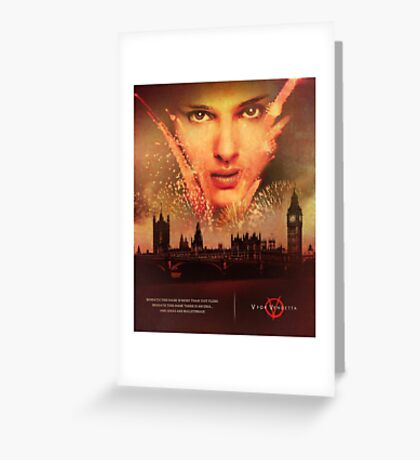 Vendetta Greeting Card