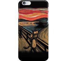 Scream in Springfield iPhone Case/Skin