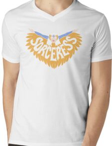 Sorceress Mens V-Neck T-Shirt