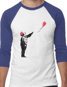 Balloon Clown Men's Baseball ¾ T-Shirt