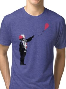 Balloon Clown Tri-blend T-Shirt