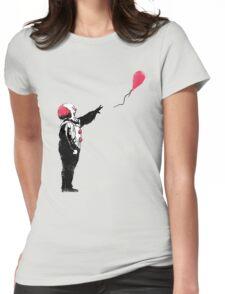 Balloon Clown Womens Fitted T-Shirt