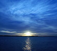 Moreton Bay Sunset by Steven Holmes